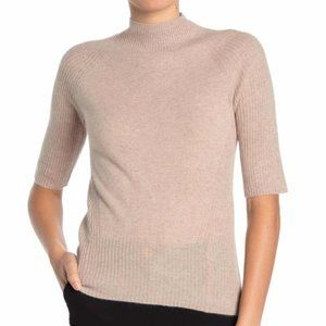 Magaschoni Mock Neck Cashmere Tuscan XL NWT